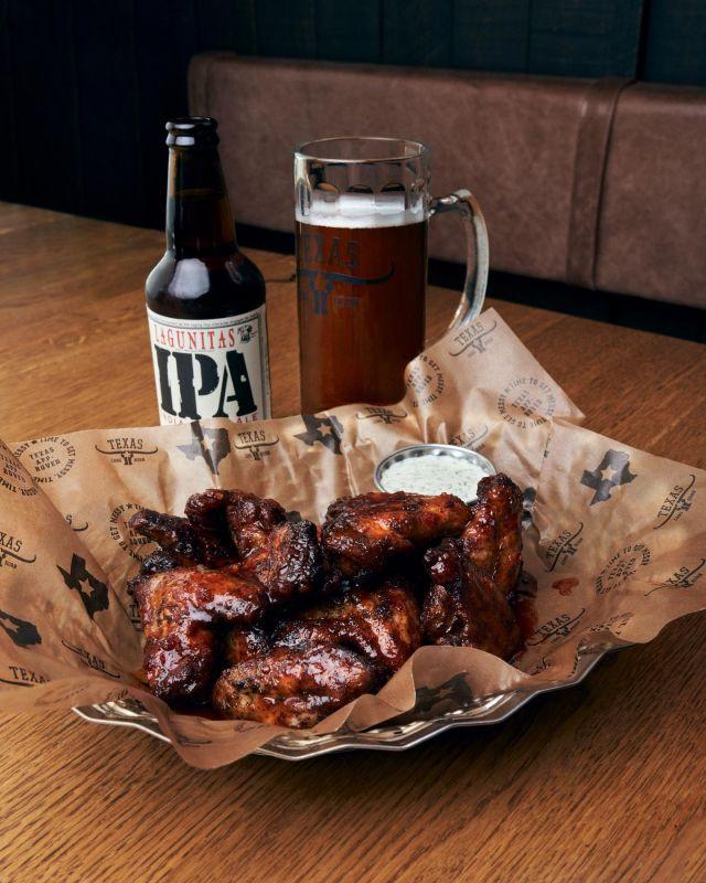 LILL-LÖRDAG! Sväng förbi och fira denna onsdag med wings och öl efter jobbet 🍻🍻